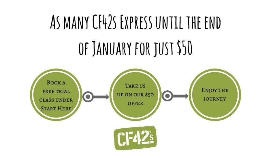 $50 Express classes